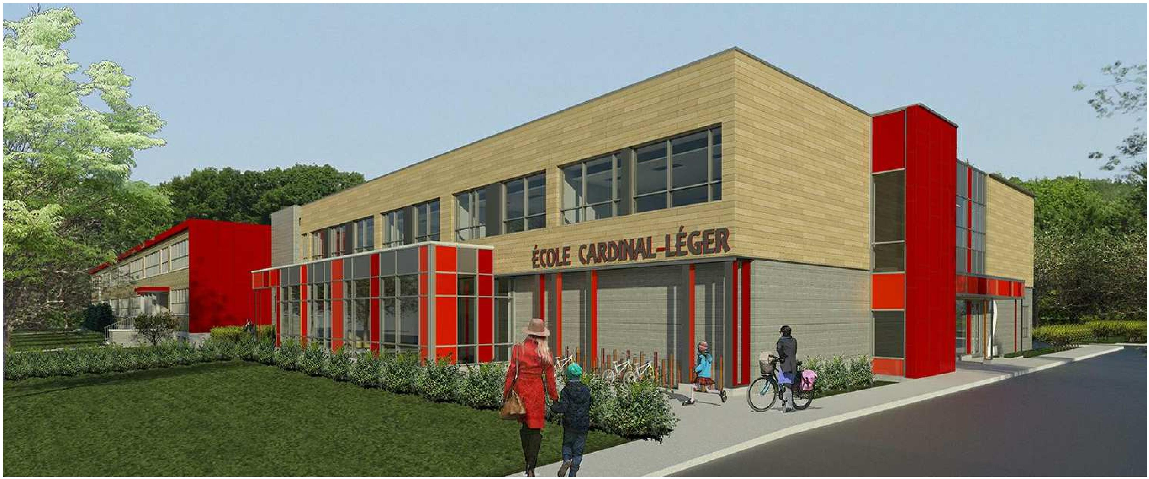 Plumbing and Geothermal Energy Contract for the Cardinal-Léger School