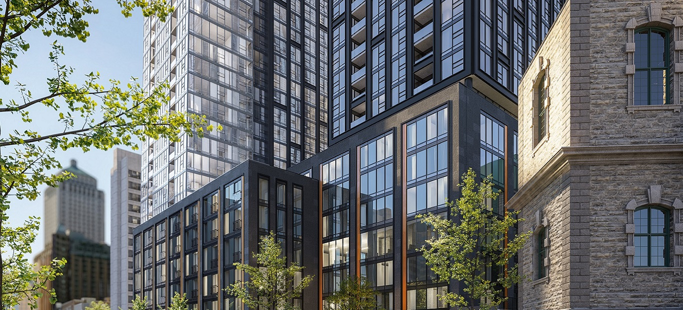 Another LEED Certification Project for a High-rise Apartment Building in Montréal