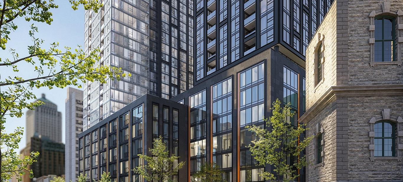 Implication dans un autre projet de certification LEED pour une tour d'habitations à Montréal