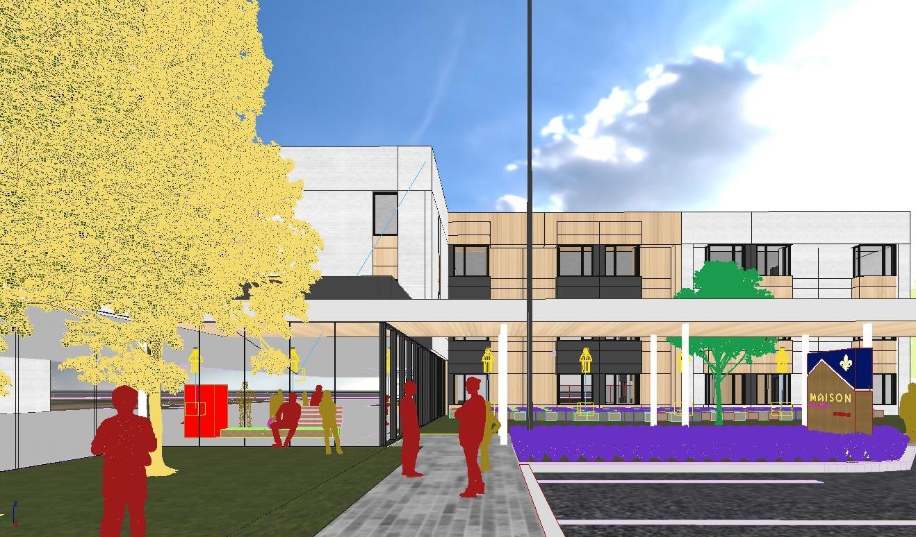 Deuxième projet dans le secteur des maisons des aînés et alternatives